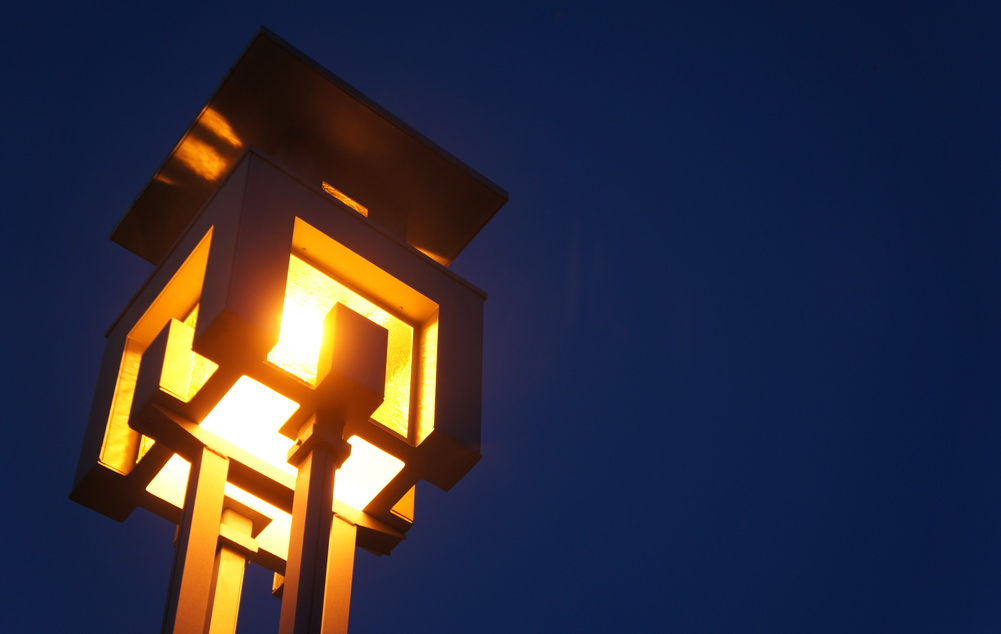 Outstanding creativity of the Gaozi streetlamps